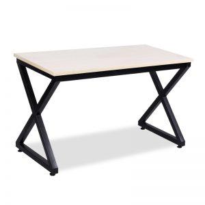 Bàn làm việc chân sắt chữ X đen BCS-24 được làm bằng chất liệu gỗ công nghiệp cao cấp. Trên mặt bàn được phủ một lớp Melamine.