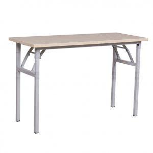 Bàn chân sắt gấp trắng BCS-09 tại Hà Nộiđược làm từ chất liệu gỗ công nghiệp, sắt phun sơn chắc chắn giúp chống han rỉ rất tốt. Loại bàn này được dùng trong không gian phòng học giúp bạn có thể học tập hiệu quả .