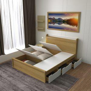 Giường ngủ đa năng 1m8