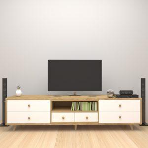 Mẫukệ tivi phòng khách mang phong cách hiện đạisẽ là một điểm nhấn đầy thu hút bên trong không gian sống gia đình. Không chỉ mang đến một góc đặt tivi bên trong phòng khách,kệ tivi phòng kháchcòn cung cấp cho người dùng một không gian lưu trữ vô cùng tiện dụng