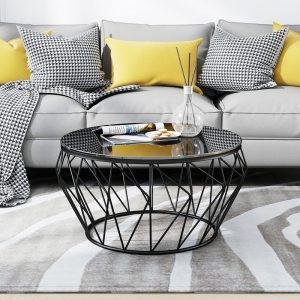 Bàn trà sofa kim loại mặt kính phong cách Châu ÂuVới mặt kính dày và lớp sơn bóng chống xước  Giá sản phẩm cạnh tranh với những nơi khác  Chất lượng sản phẩm đảm bảo vận chuyển dễ dàng