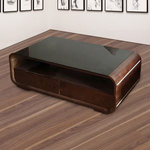 Bàn trà sofa tại nội thất Thiên Vương nhiều mẫu mã chủng loại nhiều màu sắc với bàn trà gỗ tự nhiên mặt kính là sản phẩm phù hợp cho không gian phòng khách và văn phòng Với màu sắc óc chó và màu gỗ tươi sáng đẹp, sang trọng