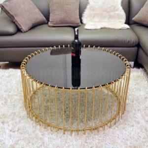 Bàn trà sofa hình tron, khung sắt lanđược làm từ loại khung sắt được phủ lớp sơn chống xước cho sản phẩm.Hóa Đơn: Giá tại kho chưa có VAT  Giá chưa bao gồm VAT, vui lòng + 10% nếu có nhu cầu