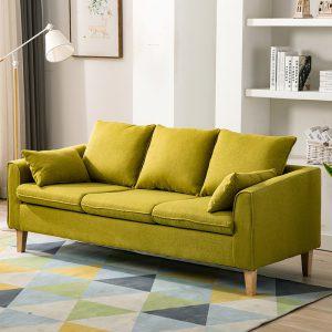 Sofa văng gỗ tự nhiên bọc nỉ đẹp – SF62 là dòngsofa văngmang phong cách hiện đại với kiểu đệm rít múi là một trong những mẫu sofa văng hot nhất hiện nay. Với phong cách hiện đại, màu sắc trẻ trung, chất liệu tốt, bạn hoàn toàn có thể tin chọn. Việc của bạn là chọn màu ghế, còn lại cứ để chúng tôi lo.