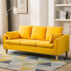 Văng sofa văn phòng 1m8 rẻ đẹp là dòngsofa văngmang phong cách hiện đại với kiểu đệm rít múi là một trong những mẫu sofa văng hot nhất hiện nay. Với phong cách hiện đại, màu sắc trẻ trung, chất liệu tốt, bạn hoàn toàn có thể tin chọn. Việc của bạn là chọn màu ghế, còn lại cứ để chúng tôi lo.