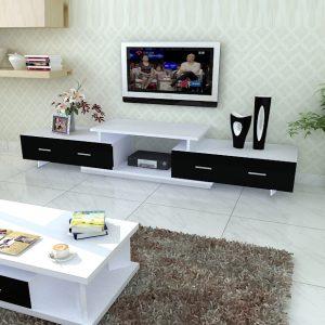 Kệ tivi KETV-04-1là dòng sản phẩm Kệ tivi đa năng với thiết kế vô cùng thông minh gồm 3 cục có thể tùy chỉnh kích thước từ 2,2m ~ 3m để phù hợp với mọi không gian nội thất. Sản phẩm được làm bằng Gỗ công nghiệp phủ Melamine đạt chuẩn
