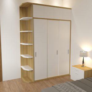 Tủ quần áo đẹp phong cách hiện đại vân gỗ là dòng tủ quần áođượcthiết kế theo phong cách hiện đại với tông màu trắng kết hợp thùng màu vân gỗ 9223 sẽ giúp phòng ngủ của bạn trở lên sang trọng và tươi sáng hơn, góp phần làm cho không gian phòng ngủ trở nên hiện đại và tươi mới hơn