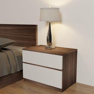Táp đầu giường được làm từ chất liệu gỗ công nghiệp MDF phủ melamine ( vân rõ, không trầy trước, ko bạc màu, có khả năng chống ẩm móc, mối mọt). Bảo hành lên tới 12 tháng, đặc biệt bảo trì chọn đời.